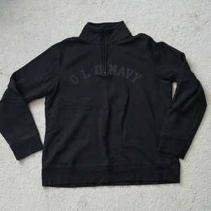 Old Navy quarter zip sweatshirt